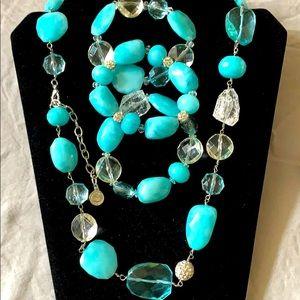 R.J. Graziano-Designer Necklace & bracelets set